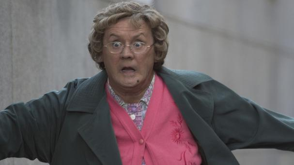 Brendan O'Carroll is heading for the big screen in Mrs Brown's Boys D'Movie