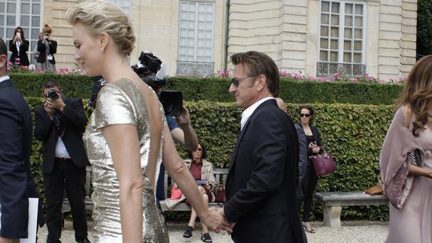 Charlize Theron and Sean Penn attended the Dior show in Paris together