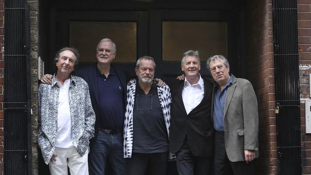 "Monty Python's ""dead parrot"" sketch has been named the nation's most loved routine by the comedy troupe"