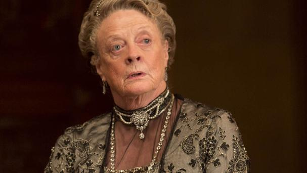 Dame Maggie Smith has won plaudits for her role in Downton Abbey as the formidable Dowager Countess