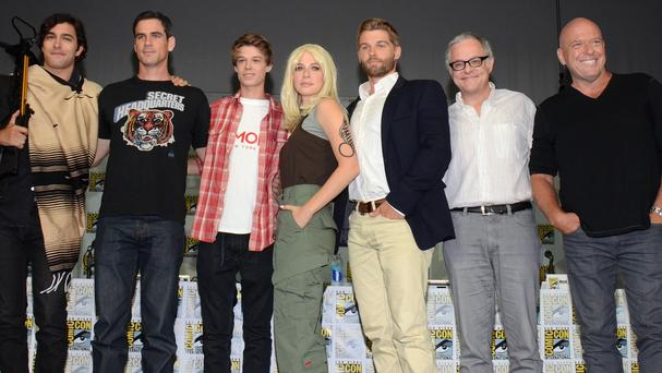 The cast of Under The Dome attend Comic-Con