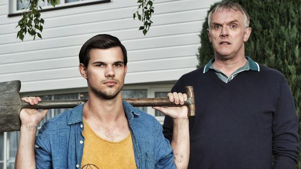 Taylor Lautner and Greg Davies star in BBC Three comedy Cuckoo