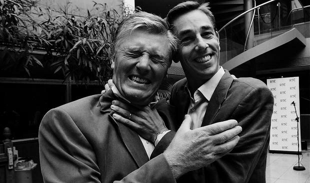 Pat Kenny and Ryan Tubridy