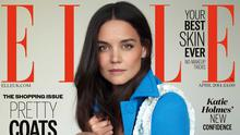 Katie Holmes was photographed by Thomas Whiteside for Elle magazine. Pictures courtesy of ELLE UK