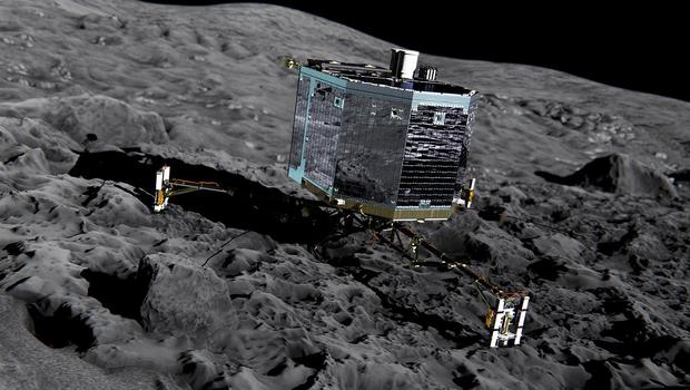 Philae touched down on the comet in November (European Space Agency/PA Wire)