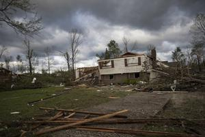 Severe storms hit Hamilton County residents early on Monday (Terry Stolt/Chattanooga Times Free Press via AP)