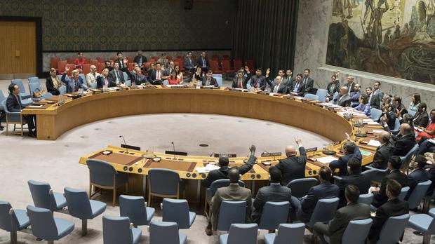 The UN Security Council votes on a new sanctions resolution that would increase economic pressure on North Korea (AP Photo/Mary Altaffer)