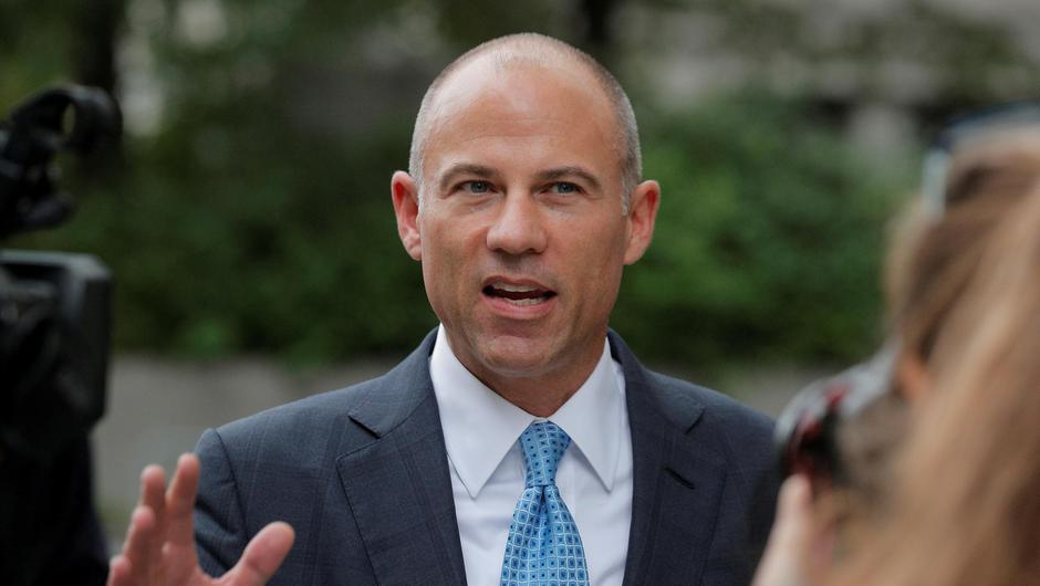 Michael Avenatti, who represented Stormy Daniels in her lawsuit against former US President Donald Trump, was sentenced to two-and-a-half years in Prison. Photo: REUTERS/Brendan McDermid.