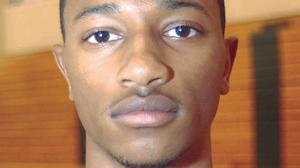 Elton Simpson pictured in the 2002-03 Yavapai College basketball team in Prescott, Arizona (The Daily Courier /AP)
