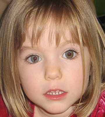 Maddie McCann: Disappeared 13 years ago during a family holiday