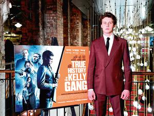 'Aggressive persona': George MacKay stars in 'The True History of The Kelly Gang'. PA photo