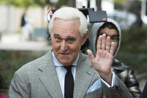 Roger Stone had been sentenced to 40 months in prison (Cliff Owen/AP)