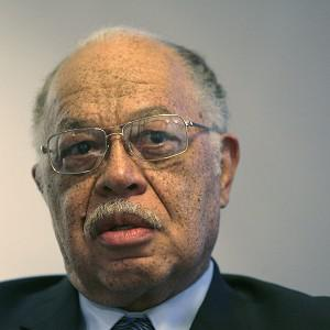 Dr Kermit Gosnell is seen during an interview with the Philadelphia Daily News (AP)