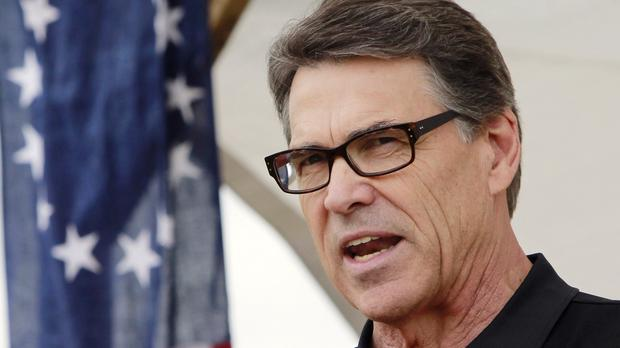Rick Perry said Islamic terrorists could be entering the United States from Mexico (AP)