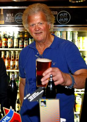 Chairman of JD Wetherspoon Tim Martin (Henry Nicholls/PA)