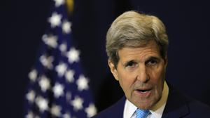 John Kerry said they will have to negotiate with Bashar Assad