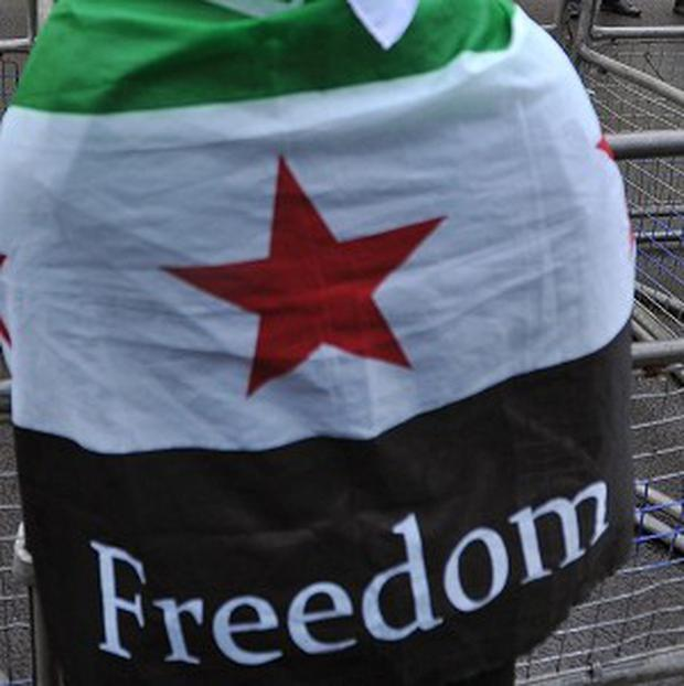 The Syrian state news agency Sana confirmed a blast in the suburb of Jaramana and said it caused casualties.