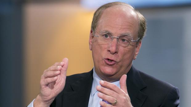 BlackRock Chairman and CEO Laurence Fink (AP)