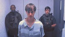 Dylann Roof appears via video before a judge in Charleston, South Carolina, accused of killing nine people inside a black church in Charleston. (Centralized Bond Hearing Court/AP)