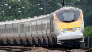 Eurostar services between Brussels, London and Paris