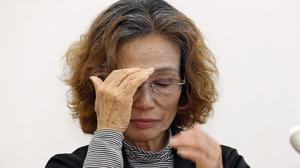 Junko Ishido, the mother of Japanese hostage Kenji Goto, pleaded with prime minister Shinzo Abe to save her son (AP)