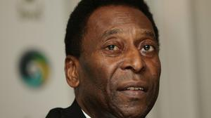 Pele was taken to hospital on November 24 after being diagnosed with a urinary tract infection.