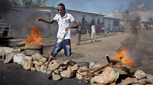 An attempted coup was mounted in Burundi as president Pierre Nkurunziza was out of the country. (AP)