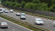 A proposed M20 motorway between Cork and Limerick   Stock photo
