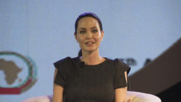Angelina Jolie highlighted that sexual crimes against women are becoming the weapon of choice for armed groups across the world. (AP)