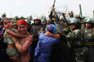 Crackdown: China has been conducting a policy of suppression against its minority Uighur Muslim population. Photo: Guang Niu/Getty Images