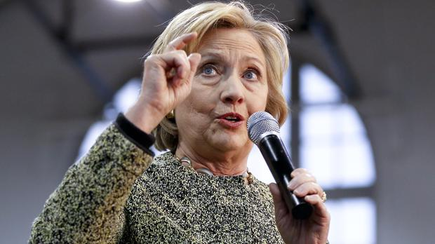 Hillary Clinton said Republicans are living in a world of