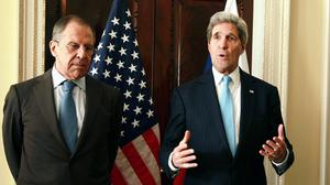 US Secretary of State John Kerry and Russian foreign minister Sergey Lavrov are set to meet in Sochi, reports claim.