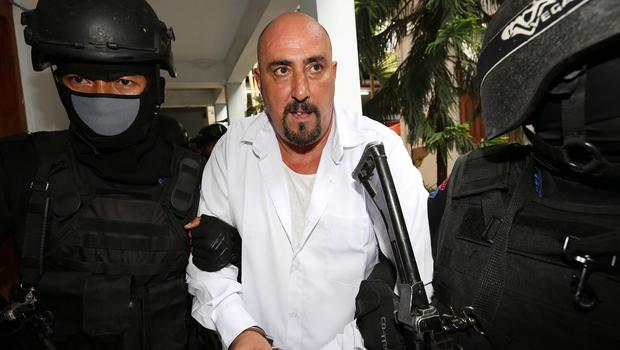 Serge Atlaoui is on death row after being convicted of drug offences (AP)