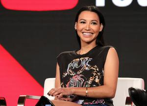 Tragedy: Naya Rivera, who played cheerleader Santana in 'Glee', went missing last week on a boat trip she took with her son. AP photo