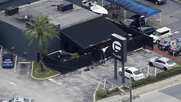 The aftermath of the shooting at the Pulse nightclub in Orlando (AP)