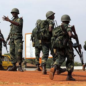African Union troops in Bangui, Cental African Republic (AP)