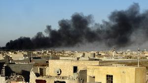 Iraqi forces entered the centre of Ramadi as part of a major offensive aimed at dislodging the Islamic State terrorist militia from the city (AP)
