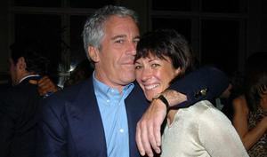 Couple: Ghislaine Maxwell with the late Jeffrey Epstein