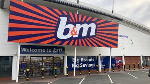 Discount retailer BandM has said it is better placed than many rivals to weather the Covid-19 pandemic (PA)