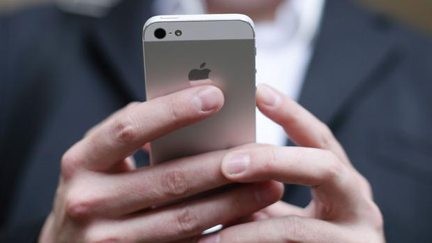 Comreg's tests claim that iPhones aren't as good at connecting to a mobile network as some other handsets. Stock Image: PA