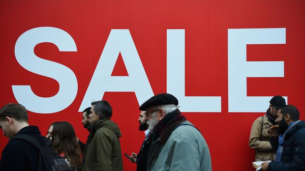 Shop prices fell in December (Kirsty O'Connor/PA)