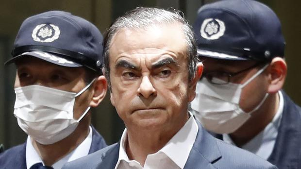 Carlos Ghosn (Kyodo News via AP, File)