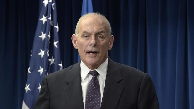 US Homeland Security Secretary John Kelly suggested the move may dissuade families from making the journey to the US (Susan Walsh/AP)