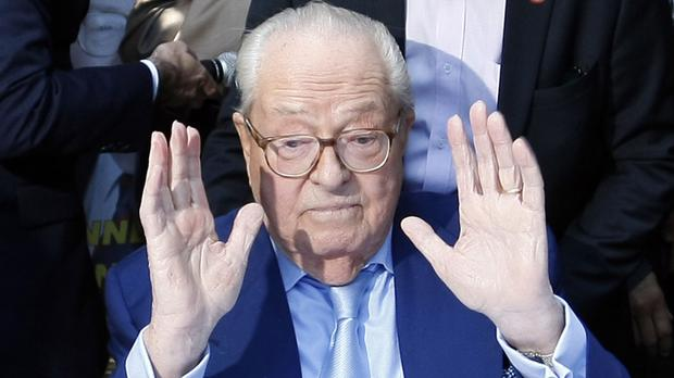 Jean-Marie Le Pen, former head of the far-right party National Front (AP)
