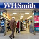WH Smith stores at travel sites like airports are enjoying more success than those on the high street (PA)