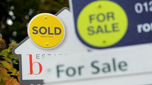 House sales edged down only slightly in March compared with February, despite the lockdown imposed towards the end of last month, according to figures from HMRC (Andrew Matthews/PA)