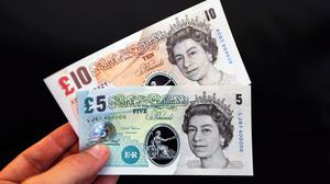 De La Rue manufactures the Bank of England's new polymer bank notes (Chris Ratcliffe/PA)