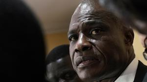 Congolese opposition presidential candidate Martin Fayulu (Jerome Delay/AP)
