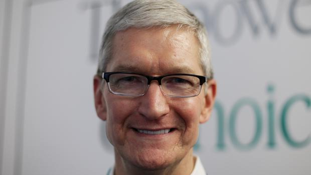 Chief executive Tim Cook said Apple is starting to adjust its pricing in some countries in response to currency valuation changes (Yui Mok/PA)