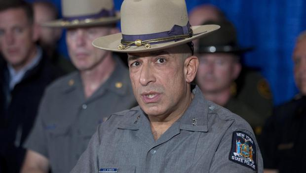 New York State Police Superintendent Joseph D'Amico speaks during a news conference following the capture of fugitive David Sweat (AP)